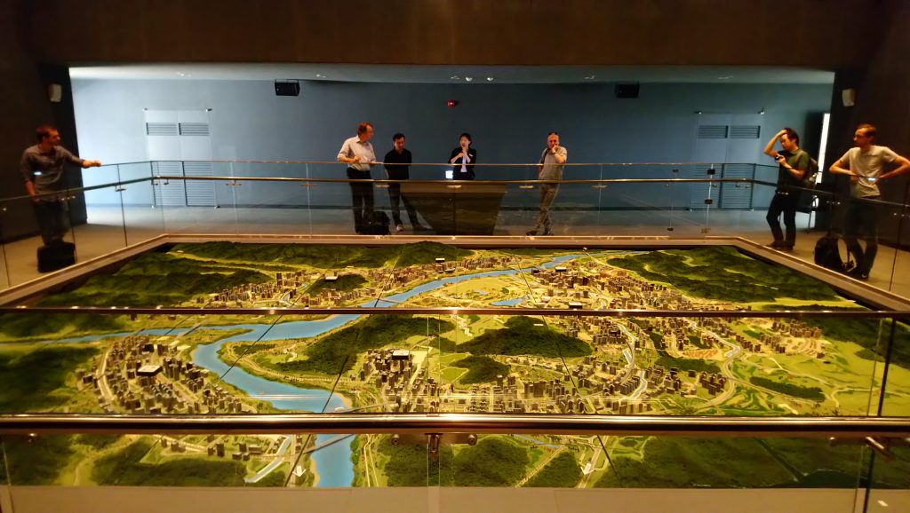 "Model of the ""Administrative Smart City"" Sejon"